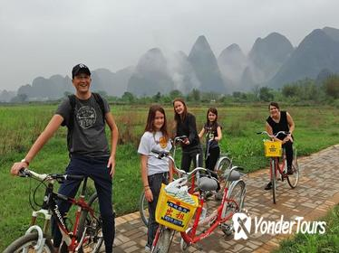1 Day Yangshuo Countryside Moderate Cycling Private Tour
