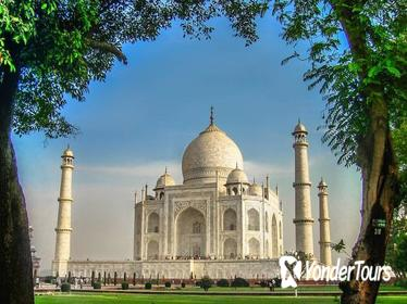 12 HOUR SUNRISE TAJ MAHAL TOUR FROM DELHI BY PRIVATE CAR