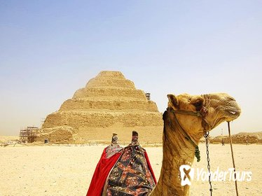 1-Day Private Memphis, Saqqara Step Pyramid, Giza Pyramids Trip from Cairo