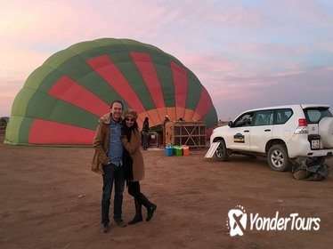 1-hour Private Hot Air Balloon Morning Flight North Marrakech with Breakfast