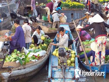 2 day Mekong Delta tour visiting floating market