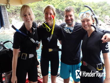 2 Days Diving Trip to Koh Tao Including 4 Dives and Accommodation