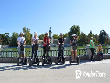 2 Hour Hidden Oasis Retiro Park Madrid Small Group Segway Tour