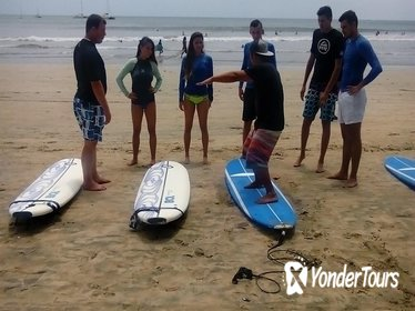 2 Hour Surf Lessons at Tamarindo Beach