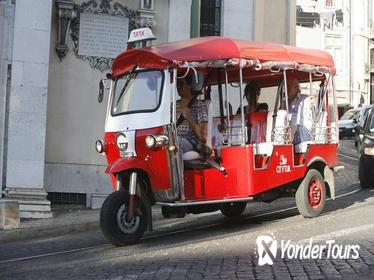 2 Hr City Tuk Tuk Tour of Lisbon