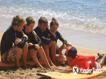 2.5-Hour Beginner's Surfing Lesson at Kuta Beach