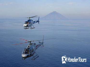 20-Minute Mt Etna Private Helicopter Flight from Castiglione di Sicilia