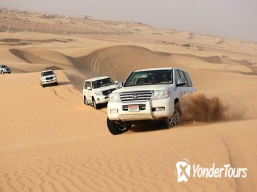 2-Day Dubai Desert Safari BBQ Dinner & Marina Cruise Dinner