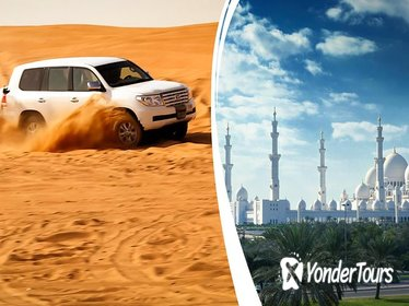 2-Day DUBAI DESERT SAFARI WITH BBQ DINNER & ABU DHABI CITY TOUR