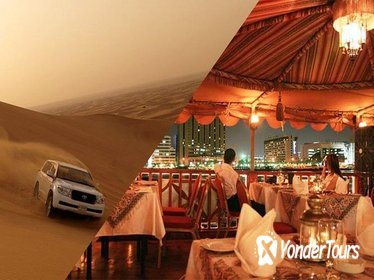 2-Day DUBAI DESERT SAFARI WITH BBQ DINNER & CREEK CRUISE DINNER