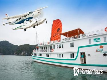 2-day Halong Bay Seaplane Flight and L'Azalee Overnight Cruise from Hanoi