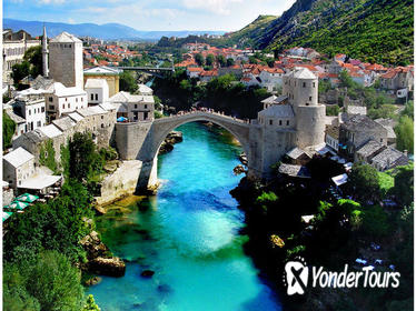 2-Night Private Excursion to Kravice Waterfalls from Sarajevo, Dubrovnik or Split