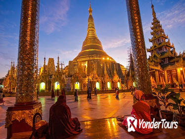3-Day Best of Yangon Private Tour with Evening Shwedagon Pagoda Visit