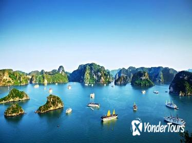 3-Day Halong Bay Cruise including Swimming and Kayaking with Round-Trip Transfer from Hanoi