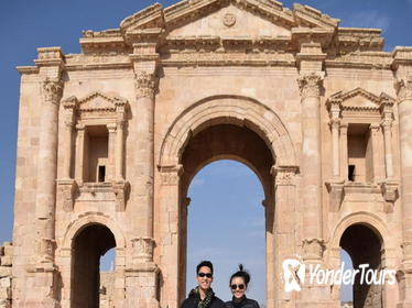 3-Day Private Tour from Amman: Jerash, Petra, Wadi Rum, Aqaba and Dead Sea