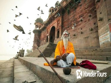 3-Day Private Tour: Taj Mahal nd Holy Ganges Tour from Delhi to Agra to Varanasi