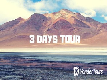 3-Day Tour to Salt Flats and Lagoons