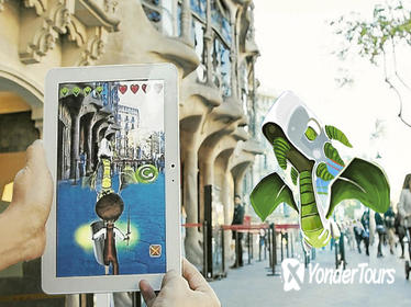 3-hour Barcelona Family Tour: Virtual Reality Dragon Hunters Game