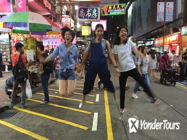 3-Hour Private Mongkok City Night Tour in Hong Kong