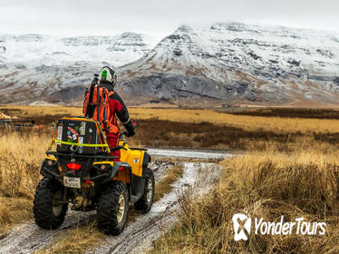 3-Hour 'Volcanic Springs' ATV Quad Adventure from Reykjavik