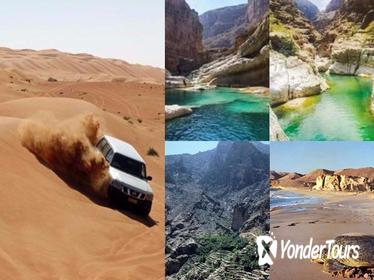 4 Day Oman Discovery Tour from Muscat