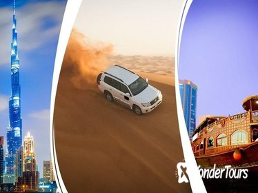 4 Famous Tour Desert Safari , Dubai City tour , Creek Cruise ,AbuDhabi city tour