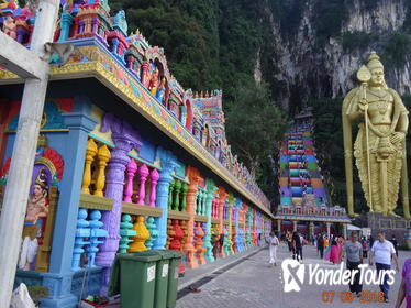 4 in 1 Day Tour Batu Caves Elephant Conservation Center Monkeys and Fireflies from Kuala Lumpur