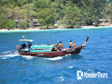 4 Island Tour to Emerald Cave by Longtail Boat from Koh Lanta