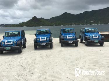 4x4 Island Sightseeing Tour in St Maarten