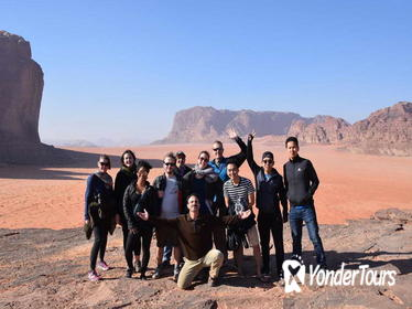 5 Day Tour: Amman Petra Jerash Mount Nebo Karak Castle Wadi Rum Red & Dead Sea