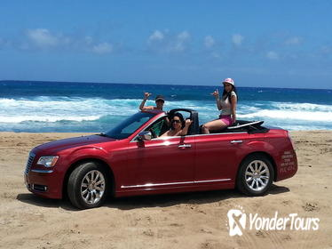 5-Hour Luxury Four Door Convertible Tour of Oahu's South Shore