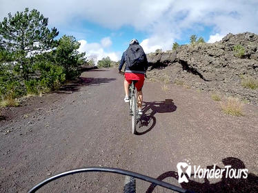 5-Hour Mount Etna Mountain Biking Private Tour from Catania