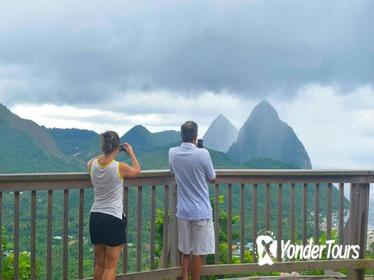 6-hour Small Group St Lucia Island Tour with Lunch