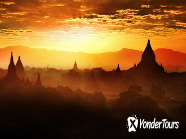 8-Day Private Myanmar Tours with Flights: Yangon, Bagan, Pindaya and Inle Lake