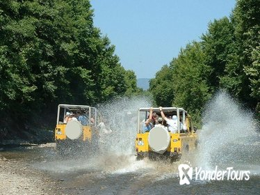 8-hour Jeep Safari and Ucansu Waterfalls Day Tour from Antalya w/Lunch