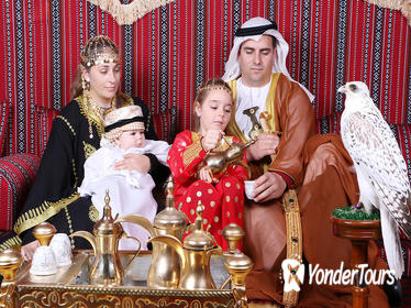 Abu Dhabi Central Market Souk Tour and UAE Costume Photoshoot