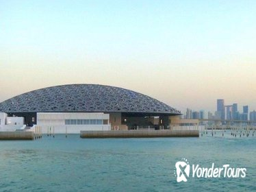 Abu Dhabi City Tour & Dhow Dinner Cruise -Louver Museum & Grand Mosque & More