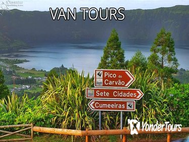 Accessible guided tour to Sete Cidades, Van tours, Sao Miguel, Azores