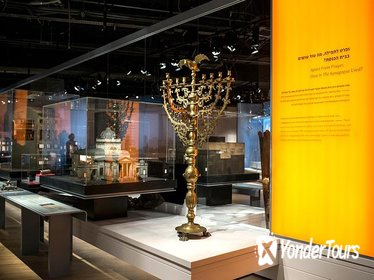 Admission Ticket and Audio Guide: The Museum Of The Jewish People-Beit Hatfutsot