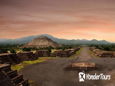 Afternoon Guided Tour to Teotihuacan from Mexico City