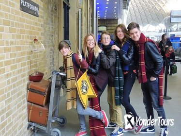 Afternoon Harry Potter Magical London Walking Tour with Kings Cross Platform Visit in London