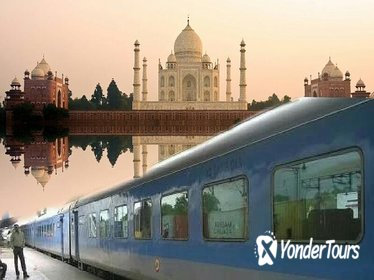 Agra Day Trip from Delhi by Train (Shatabdi Exp to Gatimaan Exp)