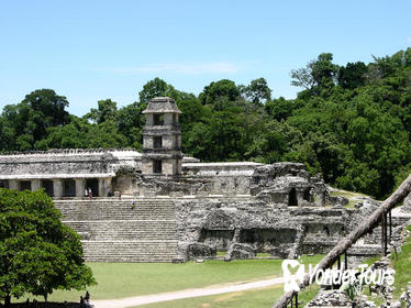Agua Azul Full-Day Tour With One-Way Transfer from San Cristobal to Palenque