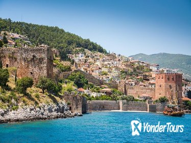 Alanya City Tour with picnic lunch by the Dim River from Side