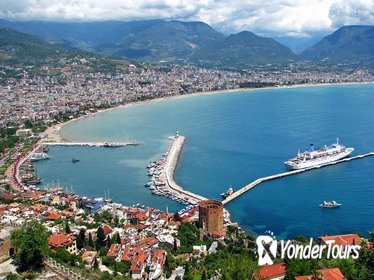 Alanya Sightseeing Tour from Side with 1-Hour Boat Trip and Lunch