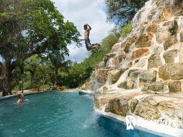 All Inclusive Thrill and Adventure Falls Tour from Montego Bay