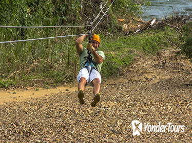 Altun Ha and Zipline Tour from Belize City