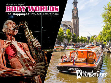 Amsterdam Super Saver: Body Worlds Skip-the-Line Entrance plus Canal Cruise