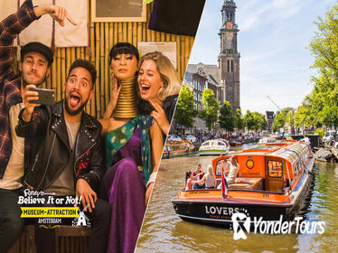 Amsterdam Super Saver: Ripley's Believe It or Not and 1-Hour Canal Cruise