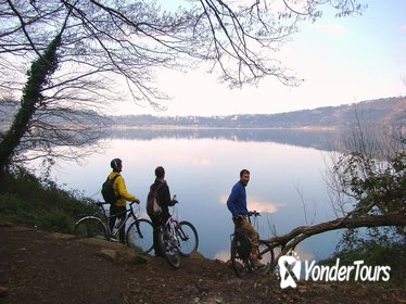 Ancient Appian Way and Castel Gandolfo Lake with Quality Electric-Assist Fat Bike